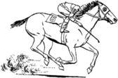 Jockey — Cтоковый вектор