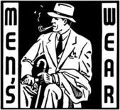 Mens Wear — Stockvektor