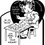 Valentine Girl — Stock Vector #55671983