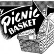 Picnic Basket Specials — Stock Vector #55670149