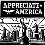 Appreciate America — Stock Vector #55671623