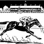 Horse Racing — Stock Vector #55672059
