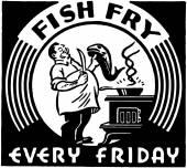 Fish Fry — Stock Vector