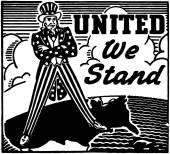 United We Stand — Stock Vector