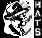 Hats retro — Stock Vector