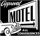 Approved Motel — Stock Vector