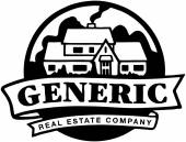 Fastighets logotyp — Stockvektor