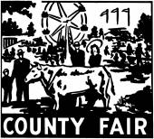 County Fair — Stock Vector