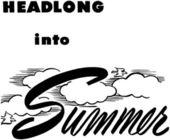 Headlong Into Summer — Stock Vector