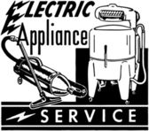 Electrical Appliance Service — Stock Vector