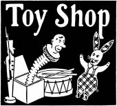 Magasin de jouets — Vecteur