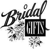 Bridal Gifts — Stock Vector
