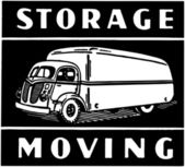 Storage Moving — Stock Vector