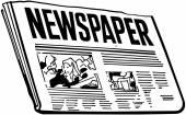 εφημερίδα — Διανυσματικό Αρχείο