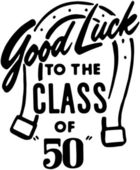 Good Luck To The Class — Stock Vector