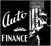 Auto Finance — Stock vektor