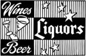 Wines Liquors Beer — Stock Vector