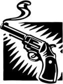 Smoking Gun — Stock Vector