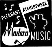 Modern Music — Stock Vector