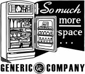 So Much More Space — Stock Vector