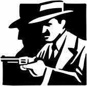 Mobster — Stock Vector