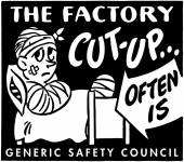 The Factory Cut-Up — Stock Vector