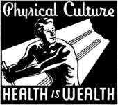 Physical Culture — Stock Vector