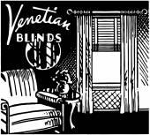Venetian Blinds — Stock Vector