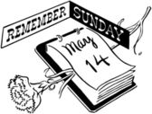 Remember Sunday — Stock Vector