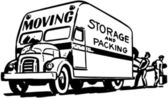 Moving Storage And Packing — Stock Vector