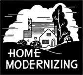 Home Modernizing — Stock Vector
