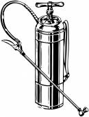 Retro Pump — Stock Vector