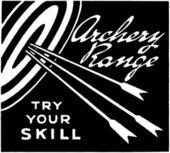 Archery Range — Stock Vector