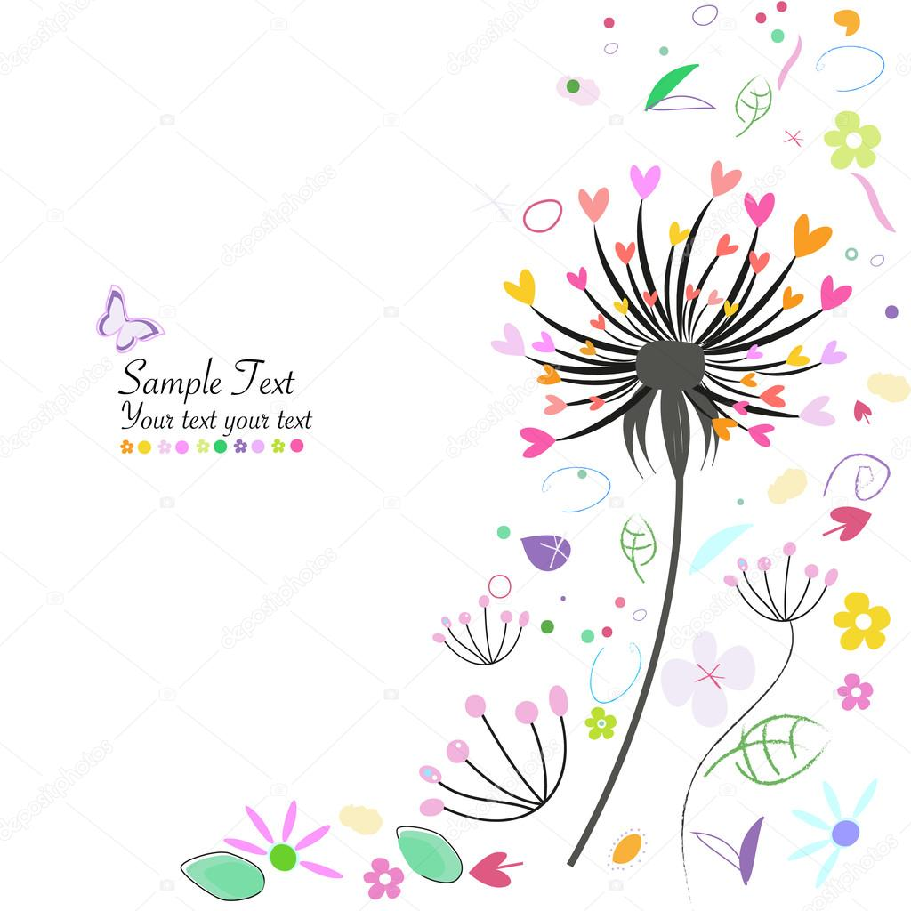 Captivating cute flower vector pics