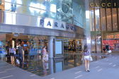 Paragon Orchard road Singapore — Stock Photo
