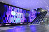 Suntec City Convention and Exhibition Centre Singapore — Stock Photo