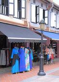 Sklep z odzieżą Arab Street Singapur — Zdjęcie stockowe