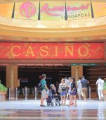 Casino at Resorts World Sentosa Singapore — Stock Photo