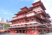 Buddha Tooth Relic Temple Chinatown Singapore — Stock Photo
