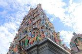 Sri Mariamman Temple Singapore — Stock Photo