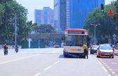 Traffic Accident Kuala Lumpur — Stock Photo