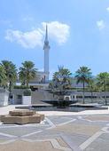 National Mosque Kuala Lumpur — Stock Photo