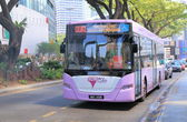 GOKL City bus Kuala Lumpur — Stock Photo