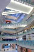 NU Sentral Shopping mall interior Kuala Lumpur — Stock Photo