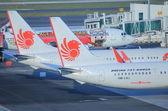 León aire aviones — Foto de Stock