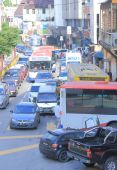 Traffic Jam Kuala Lumpur — Foto de Stock