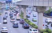 Traffic Jam Kuala Lumpur — Stockfoto