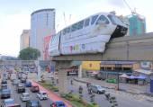 Traffic Jam Kuala Lumpur — Foto Stock