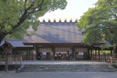 Atsuta Shrine Nagoya Japan — Stock Photo