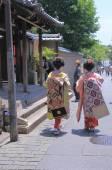 Geisha Kyoto — Foto Stock